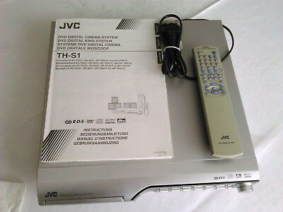 JVC TH-S1 DVD Digital Receiver Kino 5.1 System,Silber