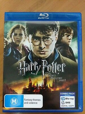 Harry Potter And The Deathly Hallows : Part 2 (Blu-ray & DVD, 2012, 2-Disc Set)