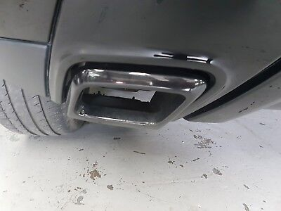 Range Rover Evoque BLACK PACK Pair of black Exhaust Tailpipe Trim Finishers