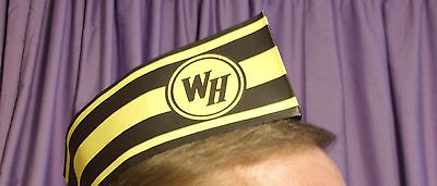 ONE HUNDRED (100) Waffle House Grill Operators Adjustable Paper Hat ~ New N Box