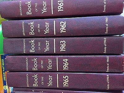 Britannica book of the year 1961-1975