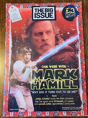 The Big Issue No. 1286 Festive Edition Mark Hamill Star Wars