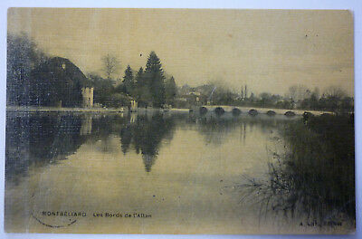 Carte postale Ancienne montbéliard - Les Bords de l'Allan