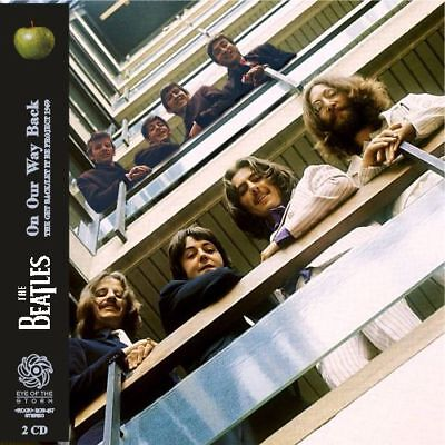 THE BEATLES - Let It Be Sessions 1969 (mini LP / 2xCD) on our way back get