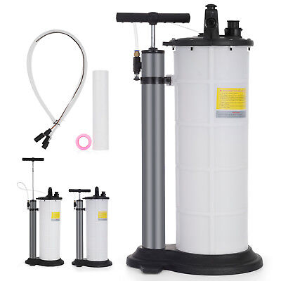 9L Air Operated/Pneumatic Fluid Extractor One Remover 2.4 gallons Vacuum