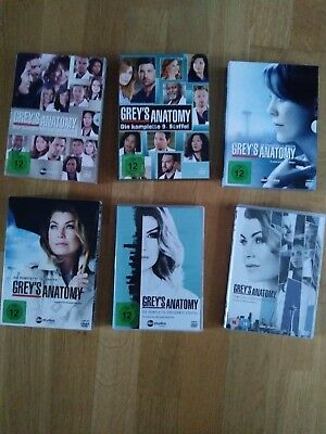 Dvd Dvds Greys Anatomy Staffel 9 10 11 12 13 in super Zustand