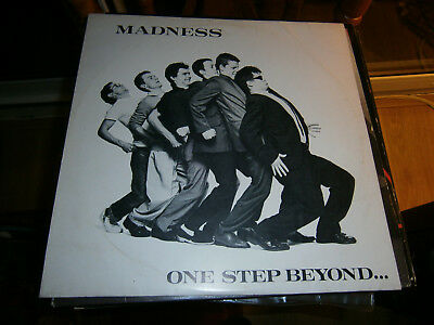 Madness  One step beyond Skinhead Ska  vinyl lp 1979 stiff  SEEZ  17
