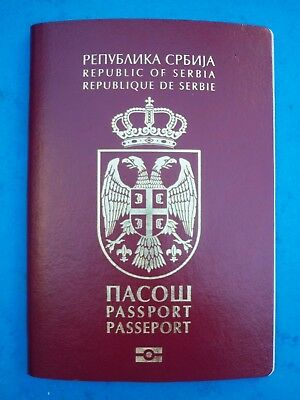 Serbia Biometric Passport, Current Issue.