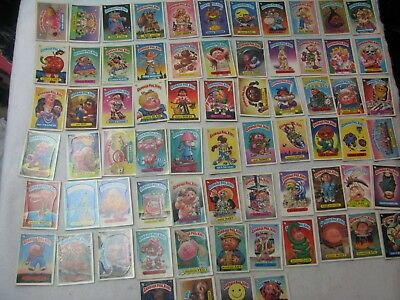 GARBAGE PAIL KIDS Lot of 70 Cards A's+B's