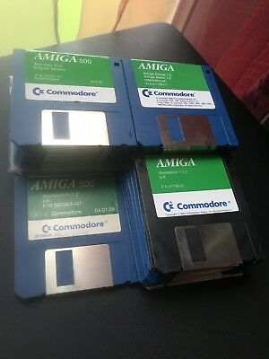 COMMODORE AMIGA ~ Workbench 1 3 2 Disk Set Of 3 ~ Tested