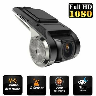 ADAS 1080P HD Dash Cam Car DVR Camera Driving Recorder G-Sensor Night Vision