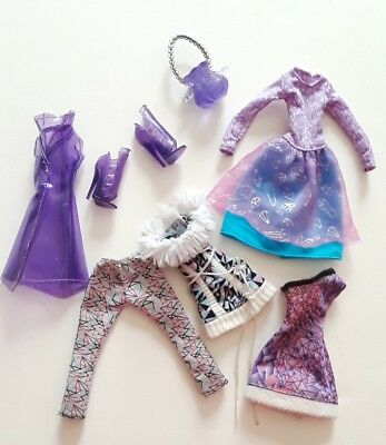 Monster High Ever After High Purple Clothes Lot