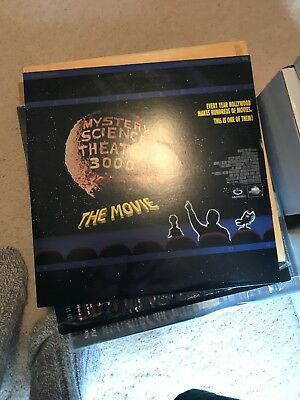 Mystery Science Theater 3000 The Movie On Laserdisc Mst3k Letterboxed