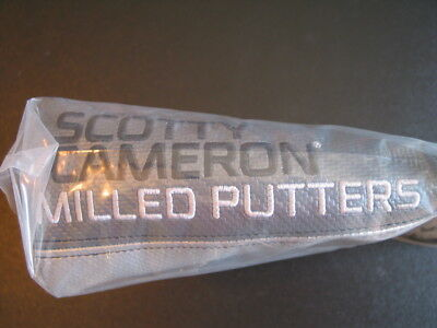 Scotty Cameron Cover All Gray Standard BLADE Milled Putters Cover Titleist NIB