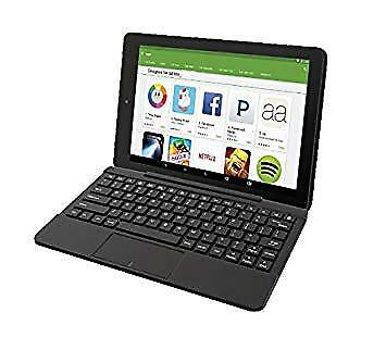 """RCA 10 Viking Pro Android 6.0 10.1"""" 2-in-1 Tablet 32GB Quad Core Black HD"""