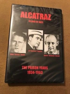 Alcatraz Island of Hate The Prison Years 1934 -1963 (DVD) SEALED RARE OOP
