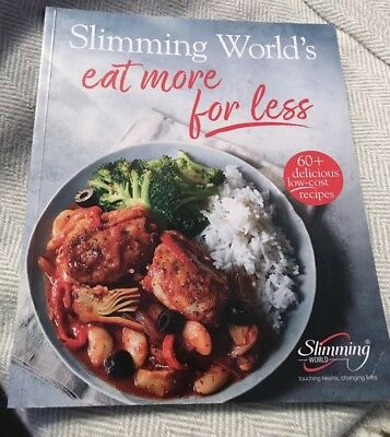 NEW Slimming World Eat More For Less recipe cook book 60+ recipes