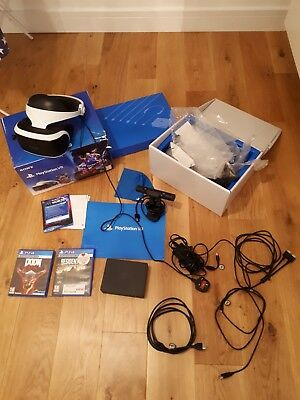 Ps4 vr headset And doom and resident evil 7