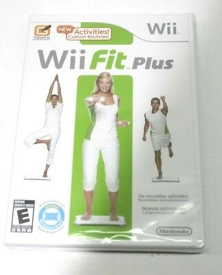 Wii Fit Plus (Nintendo Wii, 2009) Brand New Sealed (Game Only)