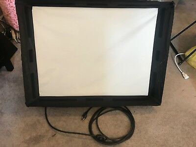 Lowel DP 1000W Tungsten Halogen Light w/ Small Chimera Video Pro Softbox