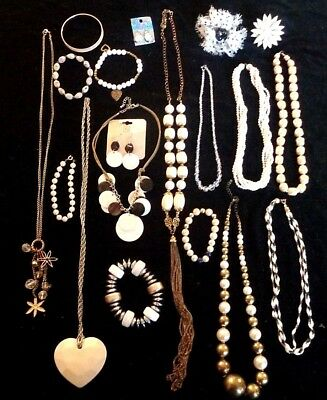 Collection of Mixed Jewellery Joblot Bundle 18 pieces