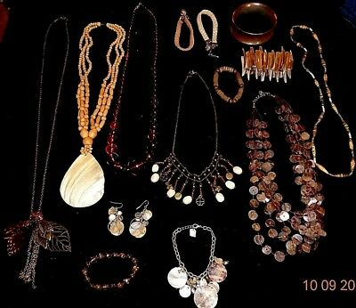 Collection of Mixed Jewellery Joblot Bundle 14 pieces