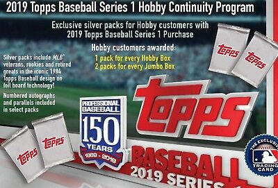 2019 Topps Series 1 SILVER PACK You Pick Complete Your Set 1984 TROUT ACUNA SOTO