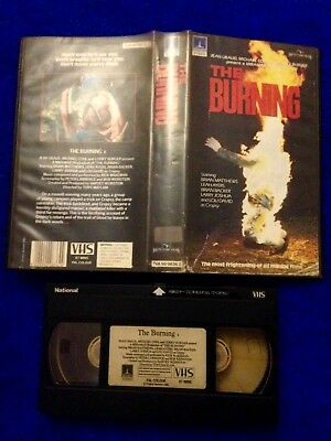 The Burning Thorn EMI VHS Pre Cert DPP Nasty Video Ex Rental Non Date Stamped