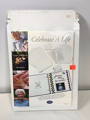 Creative Memories Collection Celebrate A Life 16 Pack Mail/Organizer Packs NEW