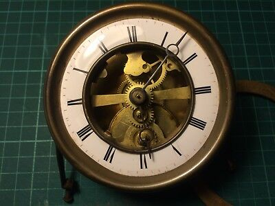 Antique French Farcot Swinging Cherub Clock Movement