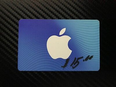 15$ iTunes GIft Card