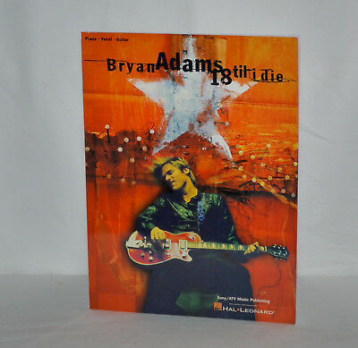 Songbook Piano Guitar Vocal - Bryan Adams Till I Die - Hal Leonard 1996
