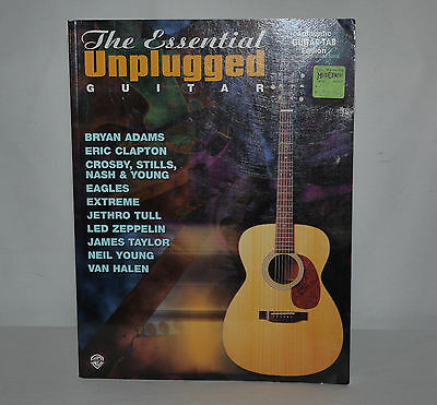 Songbook Essential Unplugged Guitar ClaptonTull Zeppelin Young Van Halen...USA
