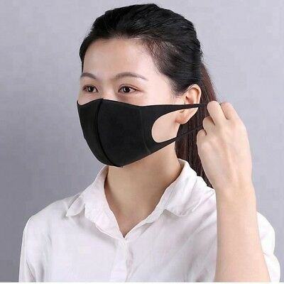 Reusable Washable Anti-Allergy Filter Pitta Face Mask - Great for Nail Salons