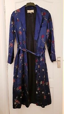 silk dressing gown Chinese Style