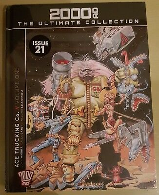 2000AD Ultimate Collection Issue 21 Ace Trucking Co. Volume One