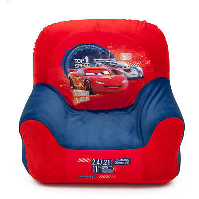 CARS Clubhouse Childrens Inflatable Chair Kids Blow Up Seat Playroom