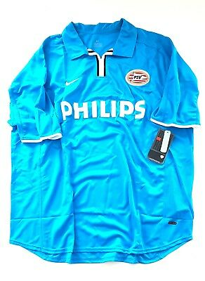 2001/02 Nike Psv Eindhoven Player Issue Football Shirt Soccer Jersey Authentic