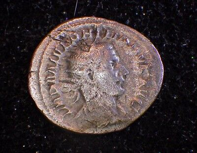 Ancient ROMAN COINS Collections:  Phillip II  (ruler at age 10 - murdered at 12)