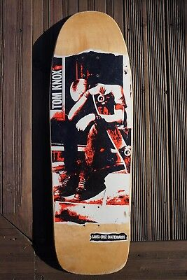 Knox Minor threat deck Skateboard  30 fucking years Santa Cruz