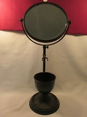 Vintage Shaving Stand With Mirror