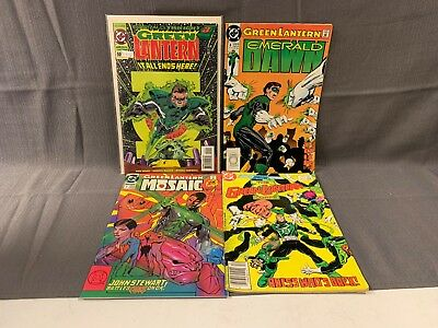 DC Comics The Green Lantern Corps Comic Book Lot (4 Comic Books)