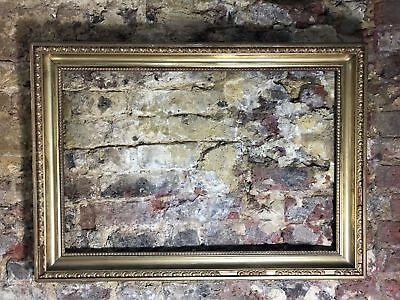 Large 90x65cm Shabby Antique Gilded Picture Frame Classic Style / Gallery Wall