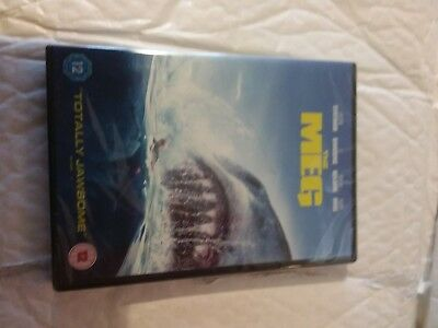 The Meg DVD [2018] - NEW AND SEALED
