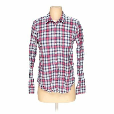 d0d0130b508144 American Eagle Outfitters Women's Button-up Shirt, size S, pink, cotton