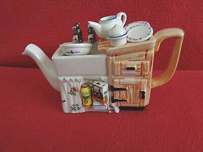 ** Exquisite Detailed Kitchen Sink Cardew Teapot ** ** In Excellent Condition **