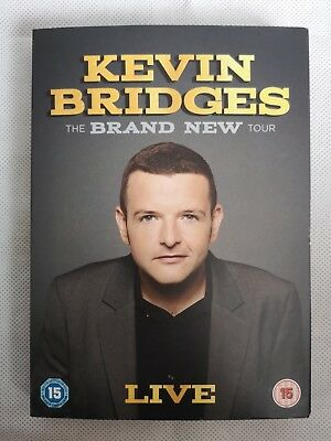 Kevin Bridges The Brand New Tour Live DVD WATCHED ONCE with Sleeve Stand Up