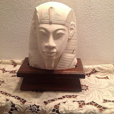 Ancient Egyptian Statue ( Plaster Cast  Replica)