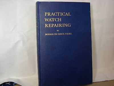 Horology, Donald de Carle watch servicing and repair books.