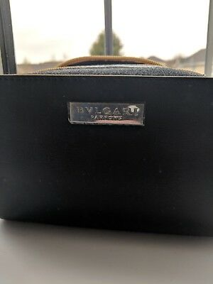 Bvlgari Man In Black Shampoo and Shower Gel & Toiletry bag & After Shave Balm